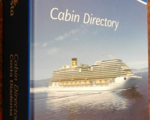 Costa Diadema Cabin Directory