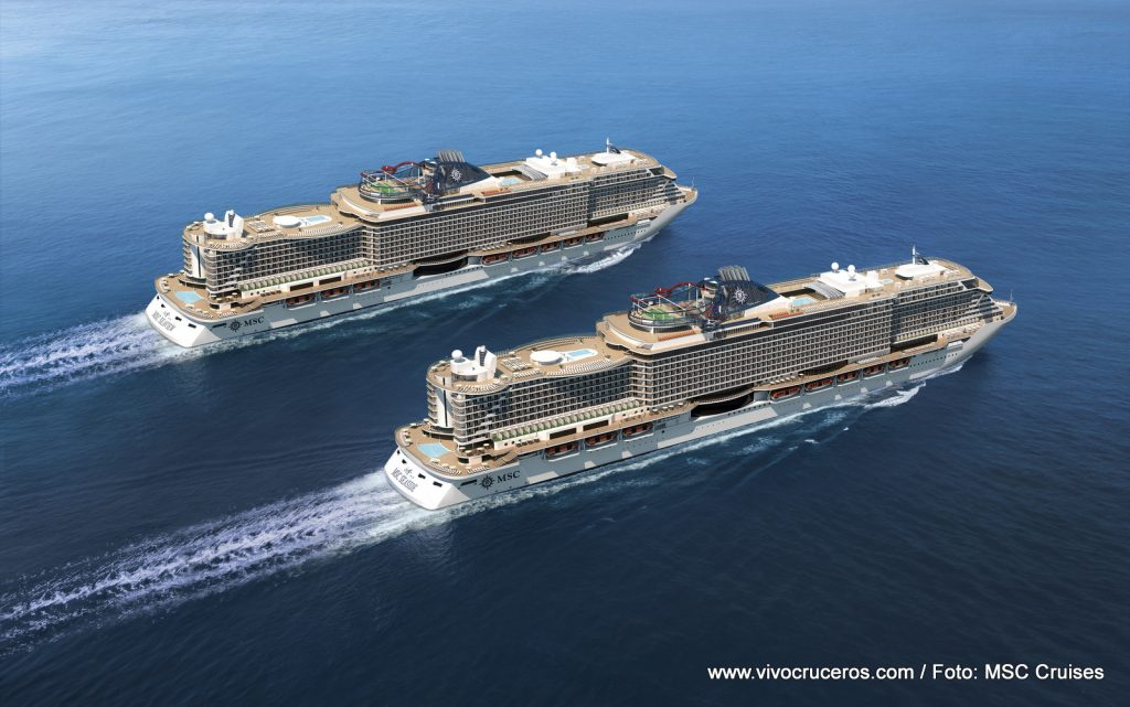MSC Seaside y MSC Seaview (Infografía)