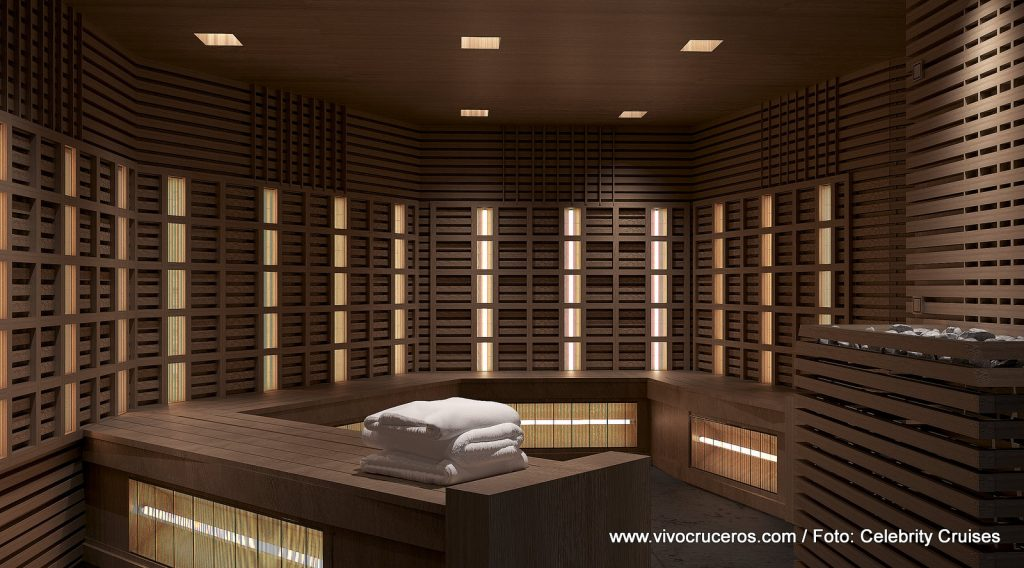 The Spa (Celebrity Edge) - Sauna Infrarrojos