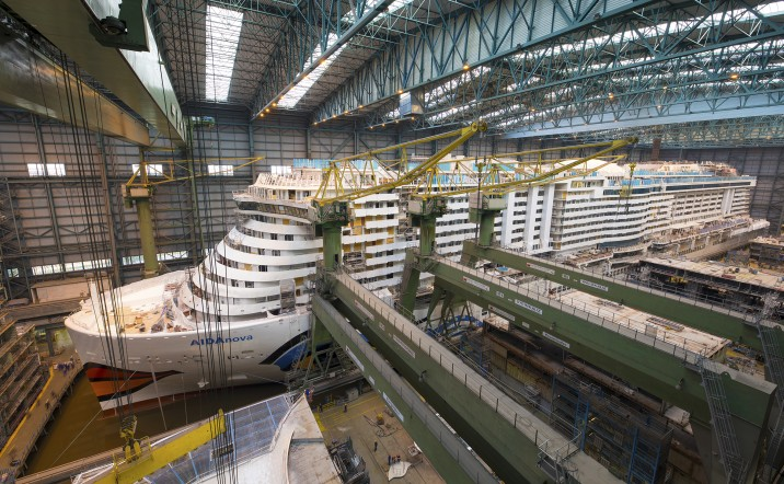 AIDAnova Meyer Werft