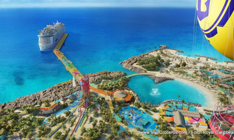 Royal CocoCay Balloon View