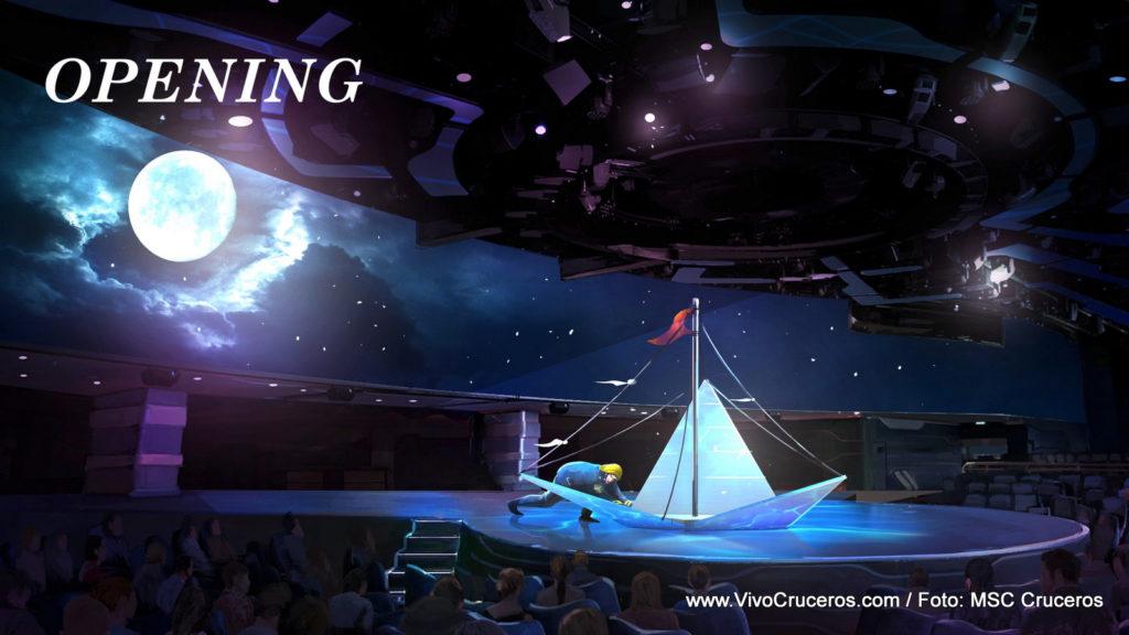 SYMA - Cirque du Soleil - Apertura