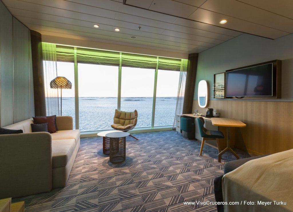 Tui new Mein Schiff 2 Sky Suite