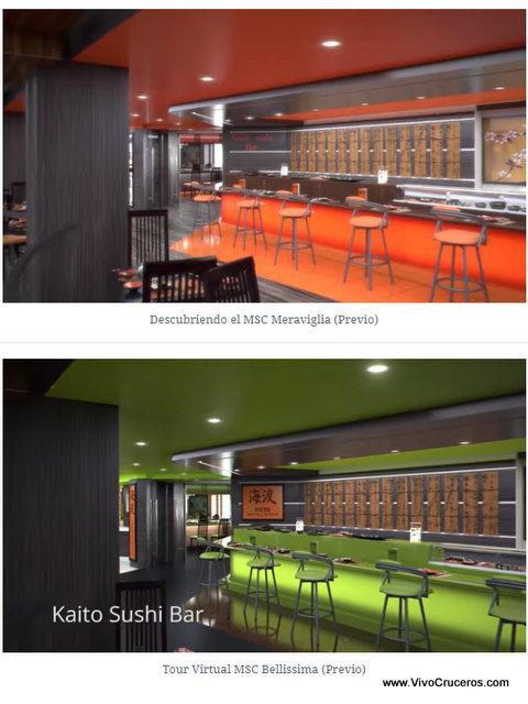 Meraviglia vs Bellissima Deck 7 Kaito Sushi Bar