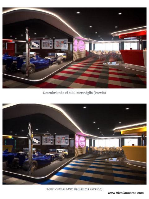 Meraviglia vs Bellissima Deck 16 Sports Bar / Simulador F1